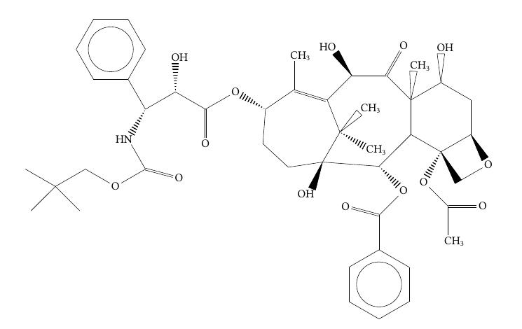 Molécule du Taxotère